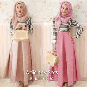 po 11 nov adianny sets saten skirt spandex shirt 140rb