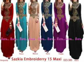sazkia 15 maxidress pre order 15 november 155rb