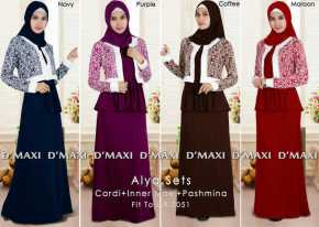 alya sets 9 0051 145rb sleeveless rayon spdx super maxi pashmina po ready 2 dec