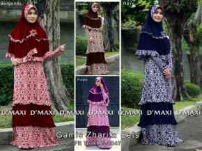 gamis zharifa 8 0047 165rb maxi front zipper korean spandex spdx comb with rayon spandex super bergo fit to xl 0po ready 24 nov