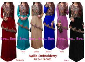 nailla maxidress 9 0005 155rb rayon spdx super combination embroidery po 22 nov