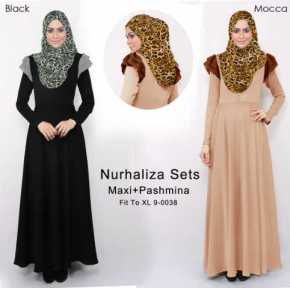 nurhaliza 9 0038 rayon spandex maxi pashmina korean spandexfit up to xl po 23 nov