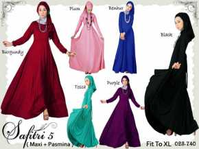 safitri 5 pre order 20 nov fit up to xl 155rb